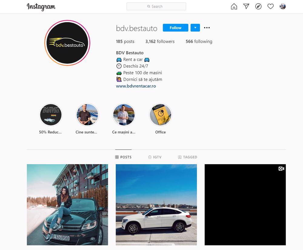 BDV Bestauto Instagram