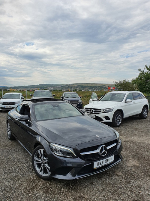Mercedes Benz Rent a car Cluj